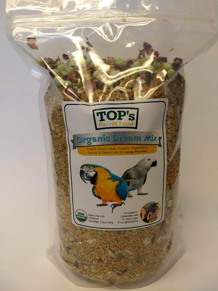 TOP's Organic Dream Mix - Small Bird - 5lb bag
